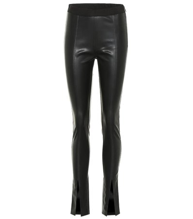 Drkshdw Faux Leather Leggings - Rick Owens | Mytheresa