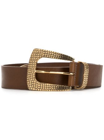 B-Low The Belt Textured Metal Details Belt - Farfetch