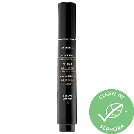 Black Pine 3D Eye-Lift Super Serum - KORRES | Sephora