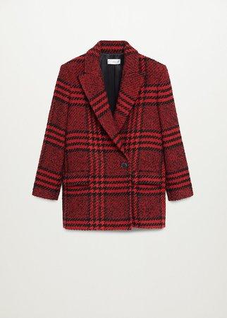 Tweed blazer - Women | Mango USA
