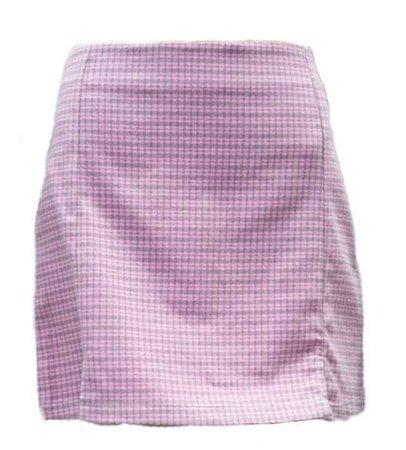pink brandy skirt