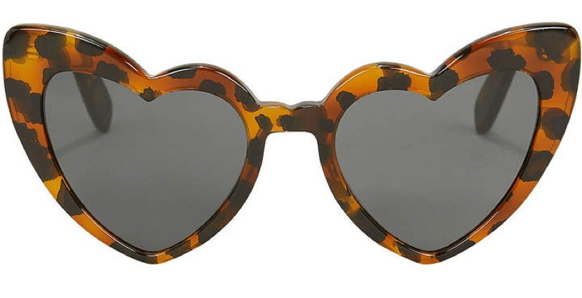 Saint Laurent Leopard Havana Loulou Sunglasses