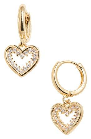 Heart Huggie Earrings | Nordstrom