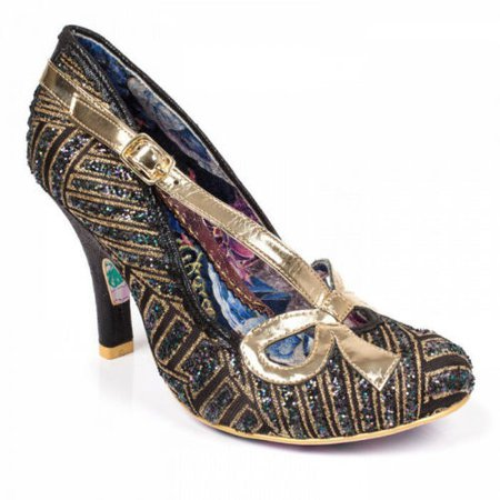 Irregular Choice Bubbles New in Box 37 6.5US Art Deco Glitter High Heel | eBay