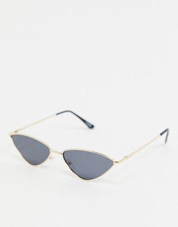 ASOS DESIGN metal cat eye sunglasses | ASOS