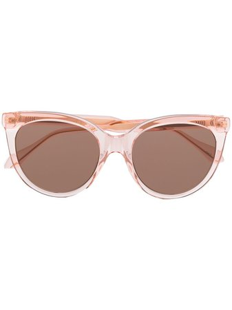 Gucci Eyewear Tinted cat-eye Sunglasses - Farfetch