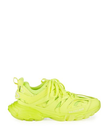 Balenciaga Track Clear-Sole Trainer Sneakers