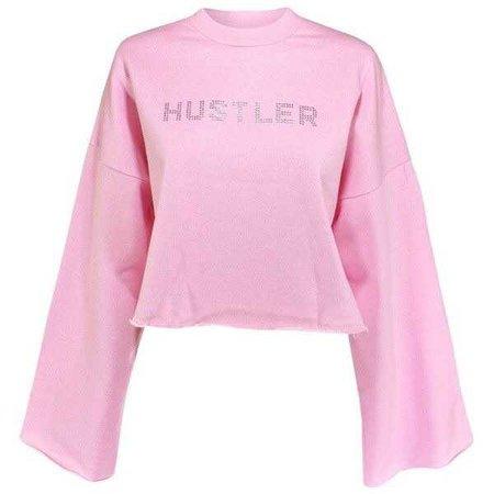 The Ragged Priest Hustler Pink Sweatshirt ($65)