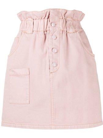 Fendi high-waist Denim Skirt - Farfetch