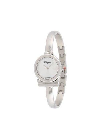 Salvatore Ferragamo Watches Gancini 22mm Bangle Watch - Farfetch