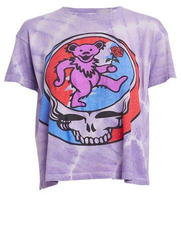 Madeworn | Grateful Dead Tie-Dye Logo T-Shirt | INTERMIX®