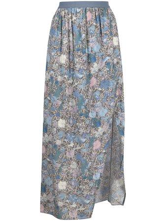 Zadig&Voltaire floral-print Midi Skirt - Farfetch