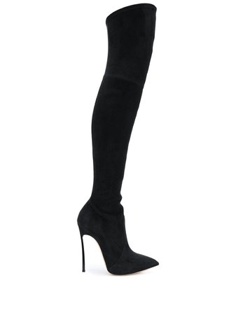 Casadei over-the-knee Blade Boots - Farfetch