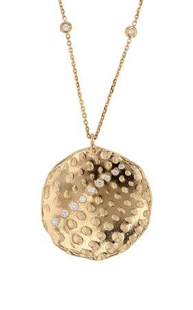 Sarah & Sebastian Imprint Diamond Necklace