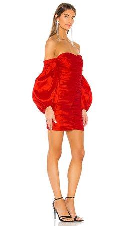 Bardot Marissa Mini Dress in Lipstick Red | REVOLVE
