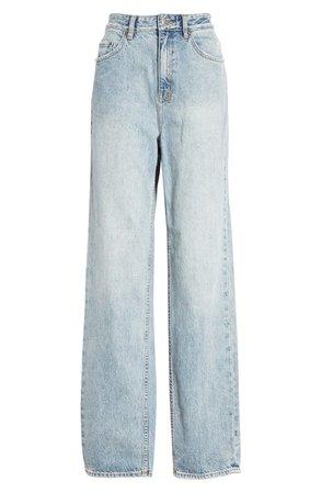 Ksubi Playback Karma High Waist Straight Leg Jeans | Nordstrom