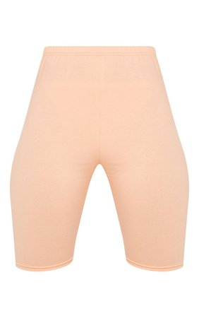 peach bike shorts