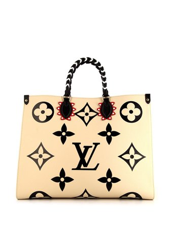 Louis Vuitton pre-owned 2020 Large On The Go Tote Bag - Farfetch
