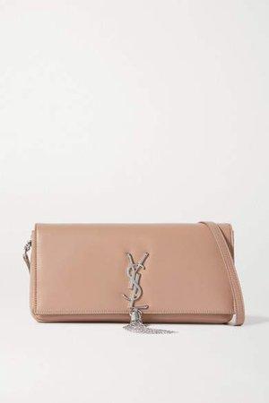 Kate Leather Shoulder Bag - Beige