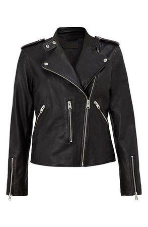 ALLSAINTS Klyn Leather Biker Jacket   Nordstrom