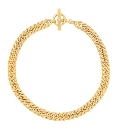 Tilly Sveaas - Small Curb Chain 18kt gold-plated sterling silver necklace | Mytheresa