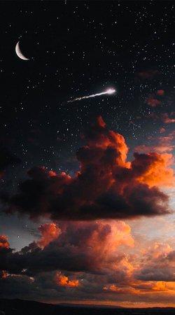 Night Sky Aesthetic Pic