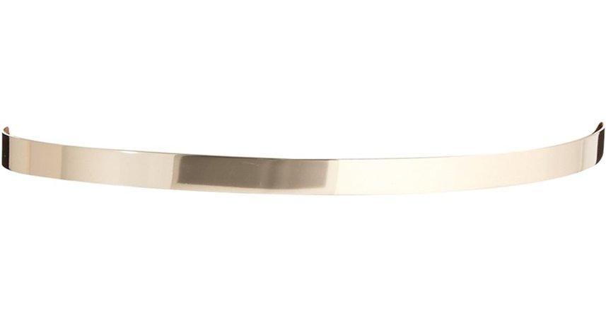 ASOS - Metallic Ultra Skinny Full Metal Waist Belt Gold