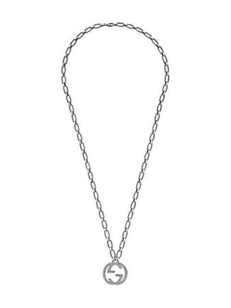 $1,100 Gucci Interlocking G Pendant Necklace - Buy Online - Fast Delivery, Price, Photo