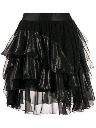 Faith Connexion frill-trim A-line Skirt - Farfetch