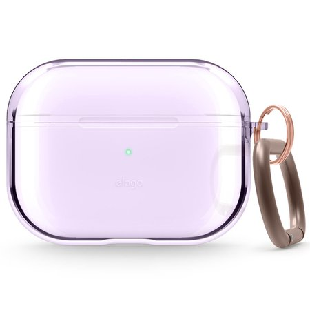 AirPods Pro Clear Case (Lavender) — elago