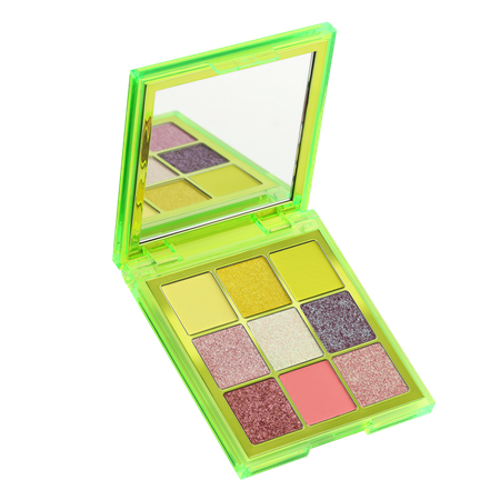 Neon Obsessions Palette Green | Shop | HUDA BEAUTY
