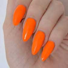 orange nail polish - Google Search