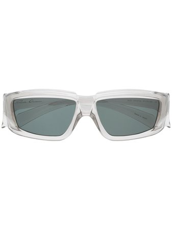 Rick Owens rectangle-frame Sunglasses - Farfetch