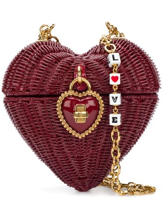 Dolce & Gabbana Heart Box shoulder bag