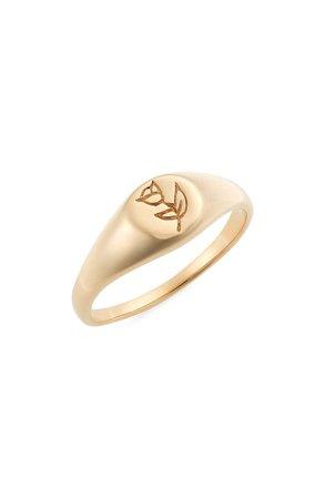 Ok Fine Bonita Rose Signet Ring | Nordstrom