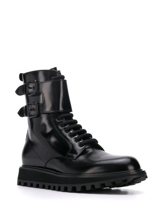 Dolce & Gabbana Buckled high-top Boots