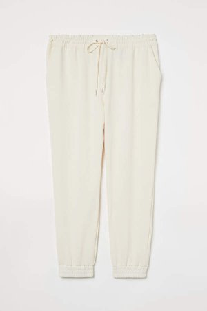 H&M+ Pull-on Pants - White
