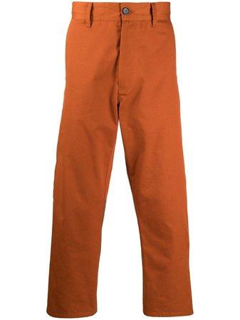 Marni panelled straight-leg trousers - FARFETCH