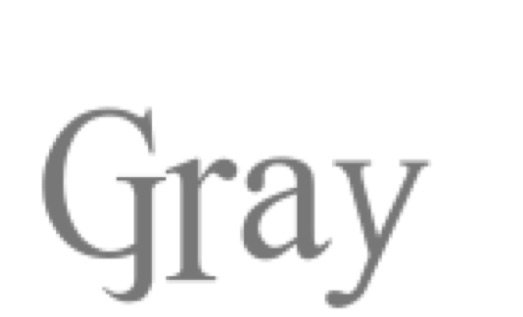 gray title