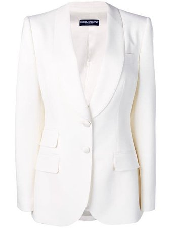 Dolce & Gabbana Single Breasted Blazer - Farfetch