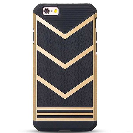 Amazon.com: Ailun Phone Case Compatible iPhone 6,iPhone 6s,Slip-Proof Rugged Bumper,Non-Gap Fit,Shock-Absorption&Anti-Scratches,Fingerprints&Oil Stains,Protective&Stylish,Ultra Slim Back Cover[Gold Black]: Cell Phones & Accessories