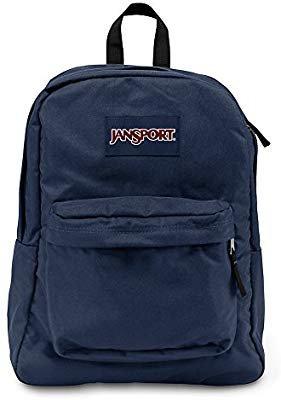 Amazon.com: JanSport T501 Superbreak Backpack - Navy: Clothing