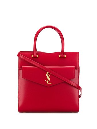 Saint Laurent Small Uptown Tote Bag Aw20 | Farfetch.Com