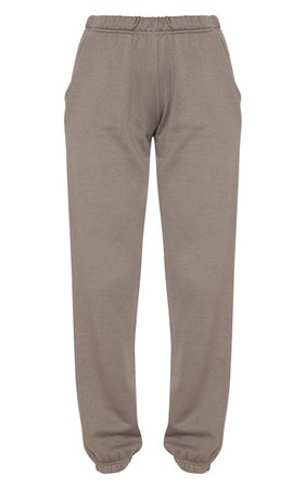 Ash Grey Casual Jogger   Pants   PrettyLittleThing USA