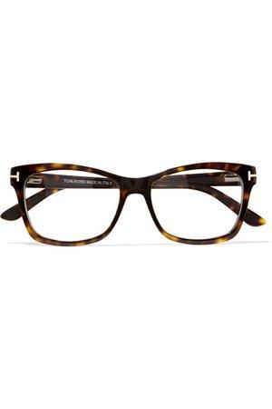TOM FORD | Square-frame tortoiseshell acetate optical glasses | NET-A-PORTER.COM