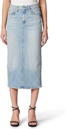 Paloma Denim Pencil Skirt