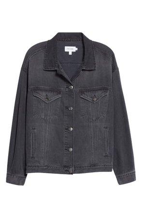 FRAME Le Oversized Denim Jacket | Nordstrom