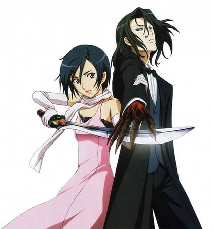 Haji x Saya from Blood+. Haji is extremely attractive... Not gonna lie... | Blood anime, Anime, Manga anime