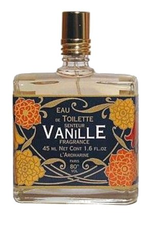 Vanilla perfume bottle