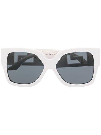 Versace Eyewear Greca oversized sunglasses